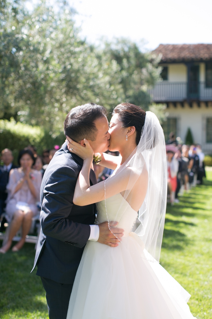 Allied Arts Guild Menlo Park Wedding